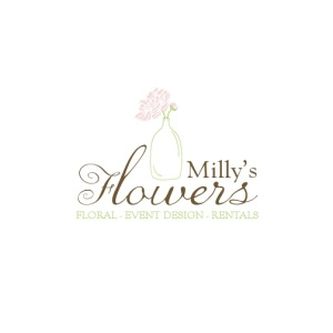 logo milly's floral